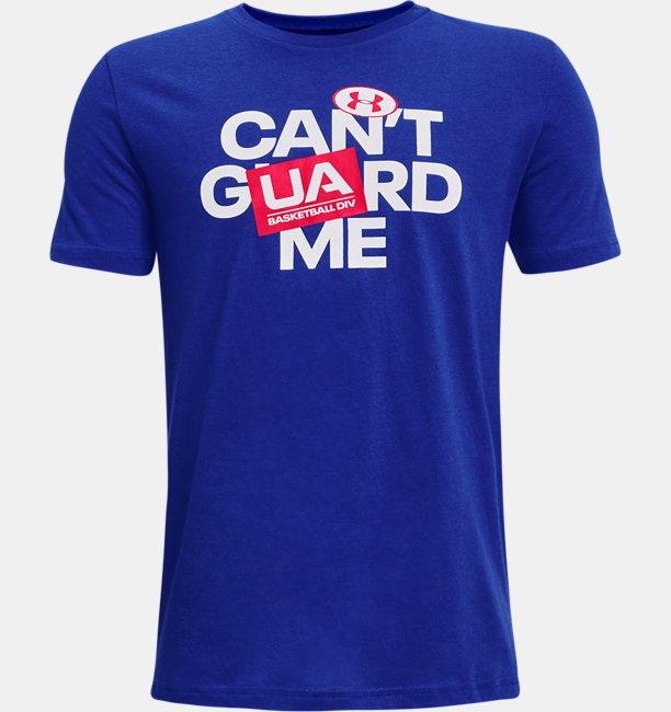 Boys UA Basketball Short Sleeve T-Shirt