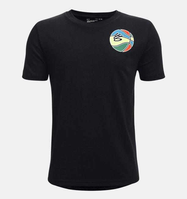 보이즈 커리 워드마크 티셔츠