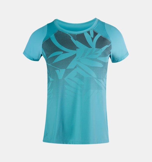 Womens UA Iso-Chill Run Short Sleeve