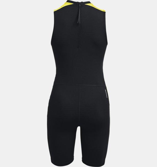 Womens UA RUSH™ HeatGear® 80s Pack Short Bodysuit