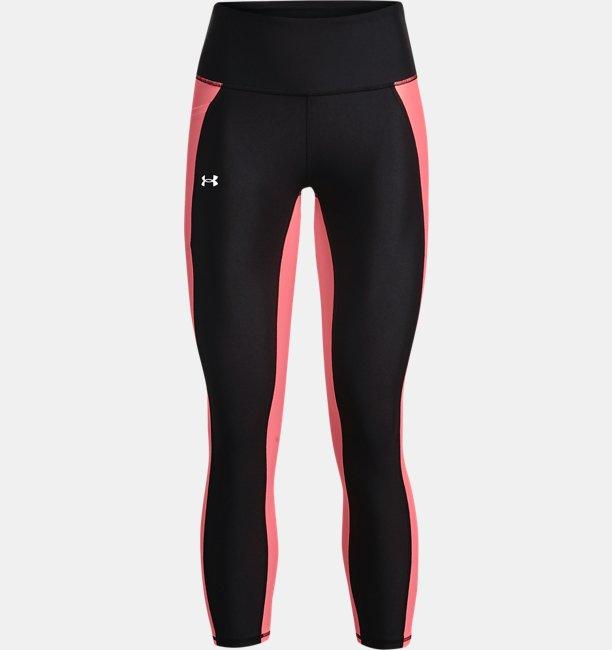 Womens HeatGear® Armour No-Slip Waistband Panel Ankle Leggings