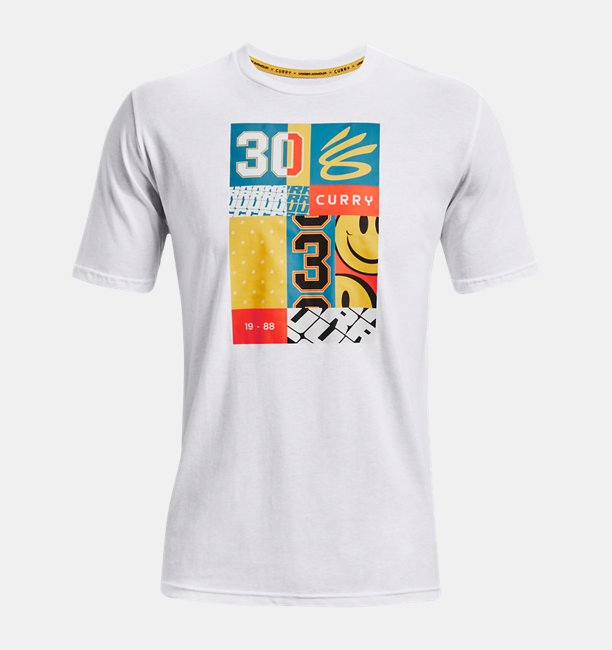 Mens Curry Graphic Short Sleeve T-Shirt