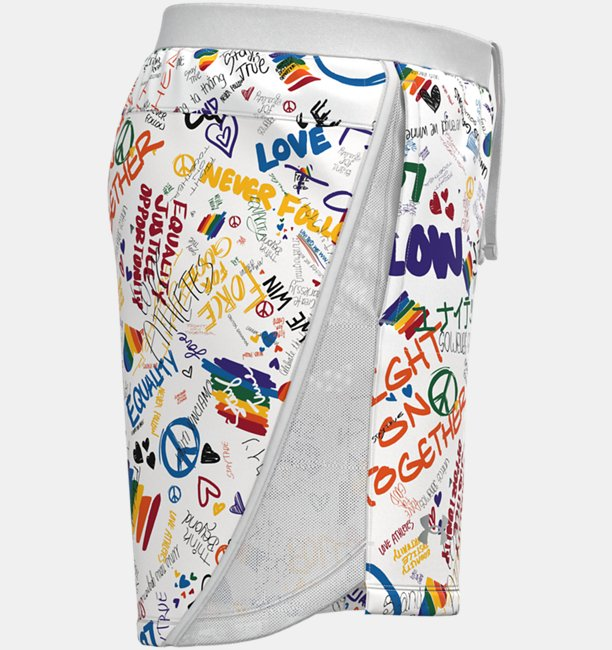 UA Launch SW 7 Pride Shorts