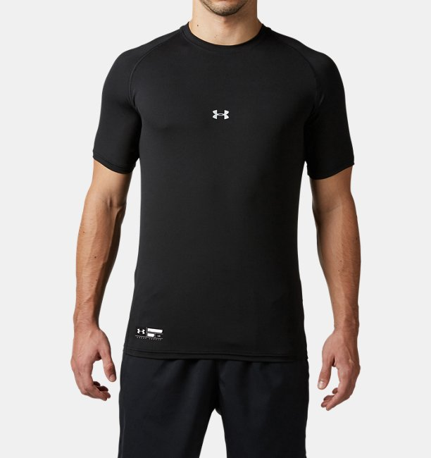 UA HG ARMOUR FIT SS CREW