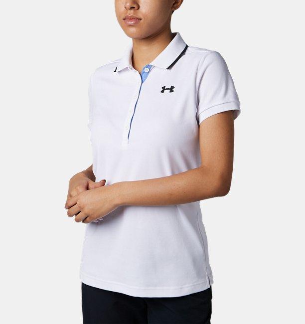 UAバニッシュピケポロ(ゴルフ/WOMEN)