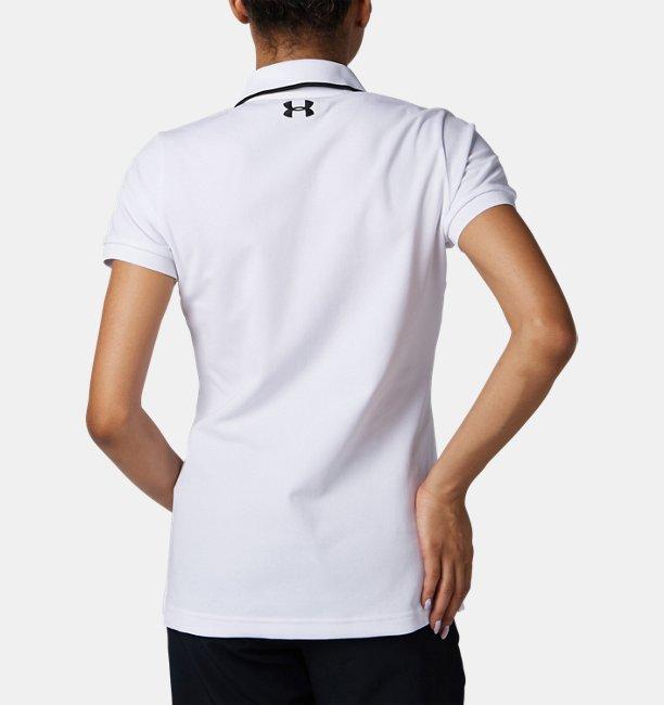 UAバニッシュピケポロ(ゴルフ/ポロシャツ/WOMEN)