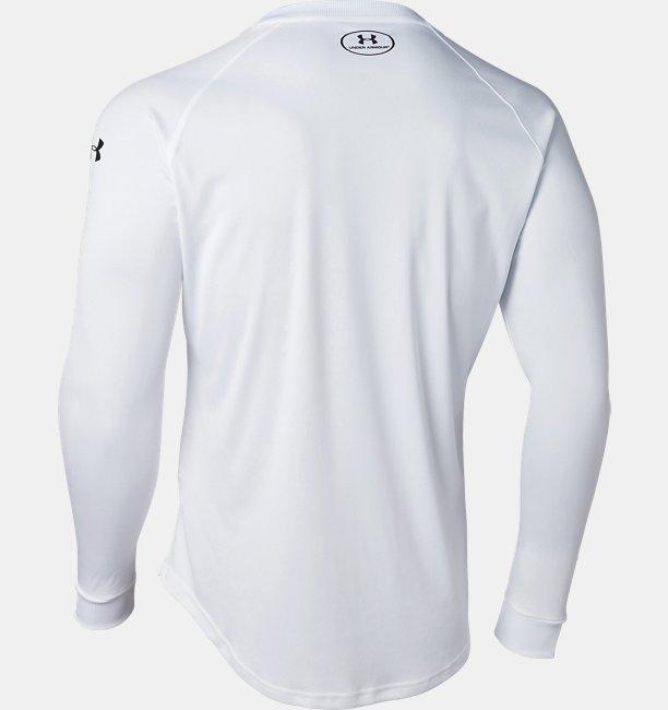UAロングショット ロングスリーブ Tシャツ(バスケットボール/MEN)