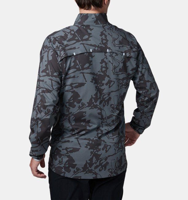 UA Stretch Woven Printed Jacket