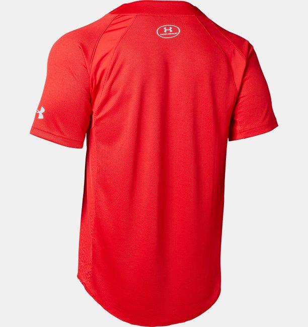【アウトレット】UAスタンド襟付きTシャツ(ベースボール/MEN)
