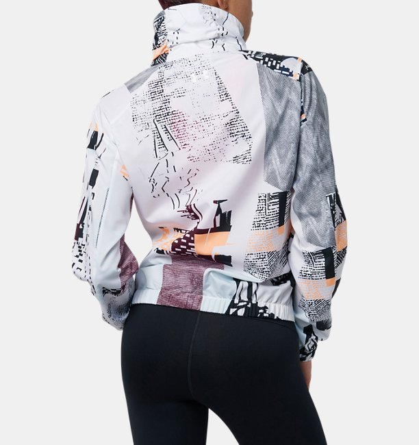 【アウトレット】UAプリントウーブンフルジップジャケット(トレーニング/ジャケット/WOMEN)