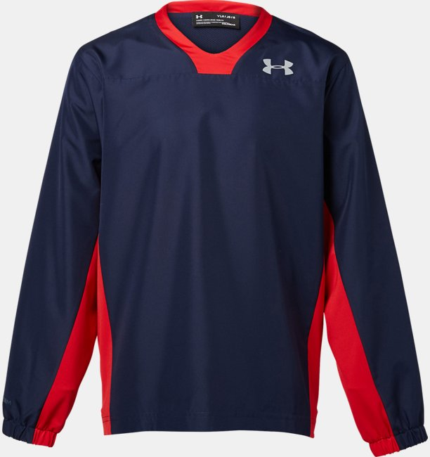 UA 9 Strong Y VNeck Woven