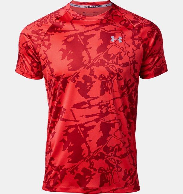 UAスピードストライド プリント ショートスリーブ(ランニング/Tシャツ/MEN)