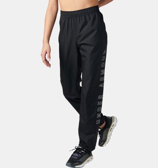 UAウーブン パンツ ワードマーク(トレーニング/ロングパンツ/WOMEN)