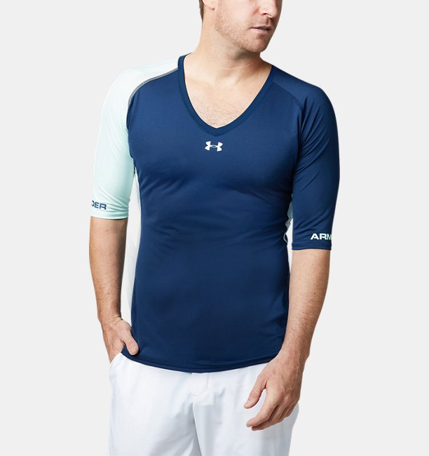UA Coolswitch Fitted HS V-neck
