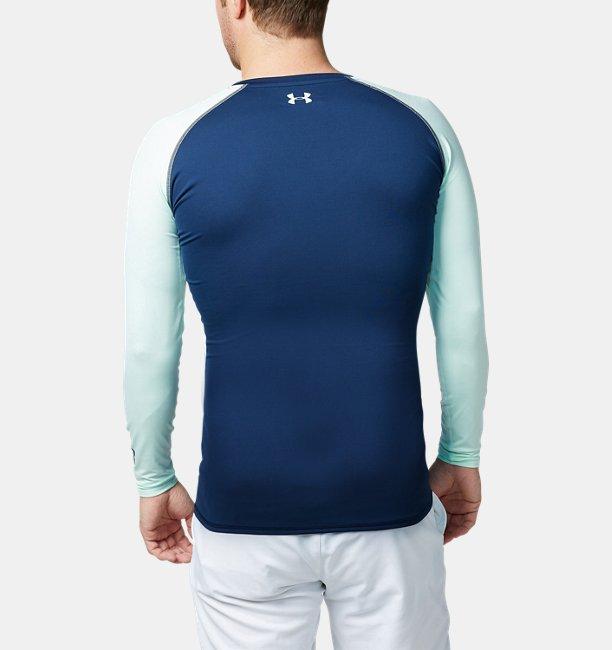 【アウトレット】UAクールスイッチ フィッティド ロングスリーブ Vネック(ゴルフ/ベースレイヤー/MEN)