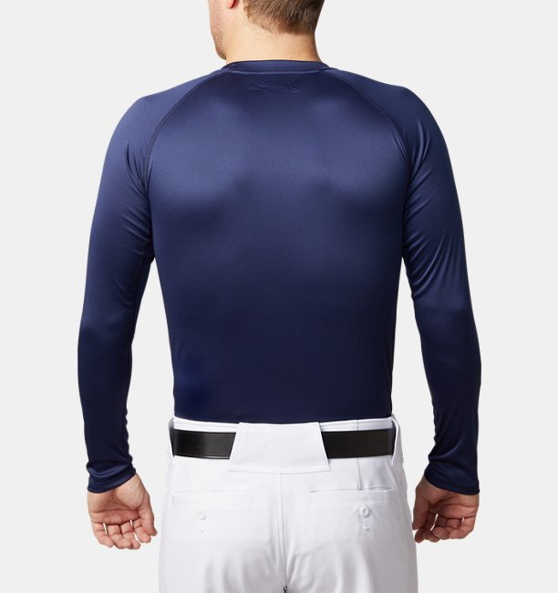 UAスピードテック フィッティド ロングスリーブクルー(ベースボール/MEN)