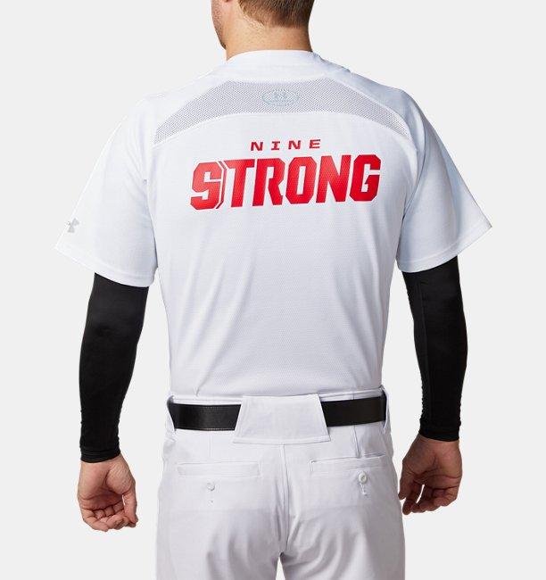 【アウトレット】UAスタンドカラー ベースボール シャツ(ベースボール/MEN)