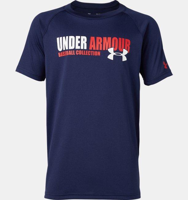 UAテック テキスト ユース Tシャツ(ベースボール/Tシャツ/BOYS)