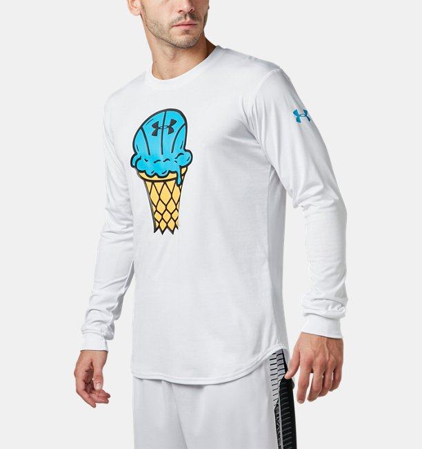 UA TECH ICECREAM LS