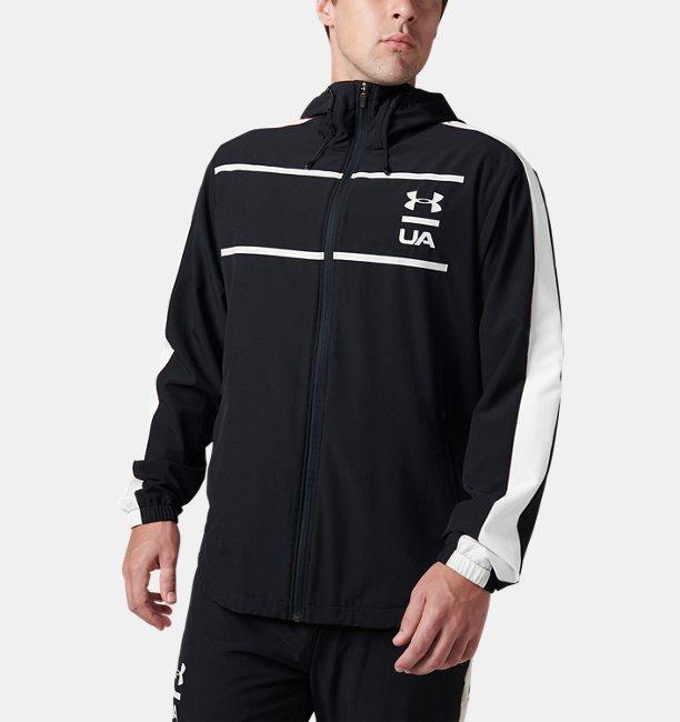 UA Stretch Woven Full Zip Hoodie