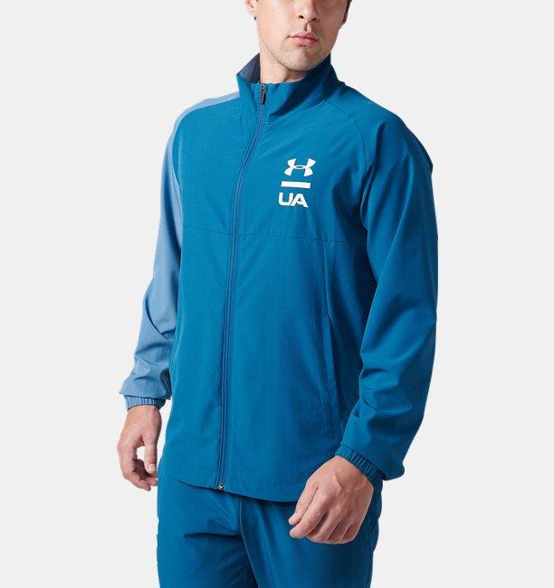 【アウトレット】UAサマーウーブン フルジップ ジャケット(トレーニング/MEN)