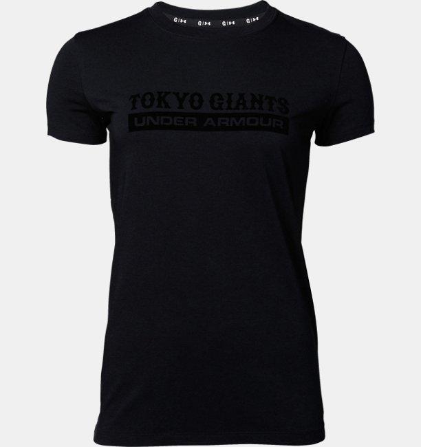 【アウトレット】UA読売ジャイアンツ チャージドコットンクルーTシャツ フロッキー(ベースボール/Tシャツ/WOMEN)