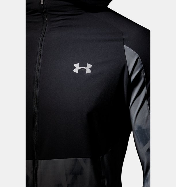 UA LIGHT WOVEN PRINTED HOODY