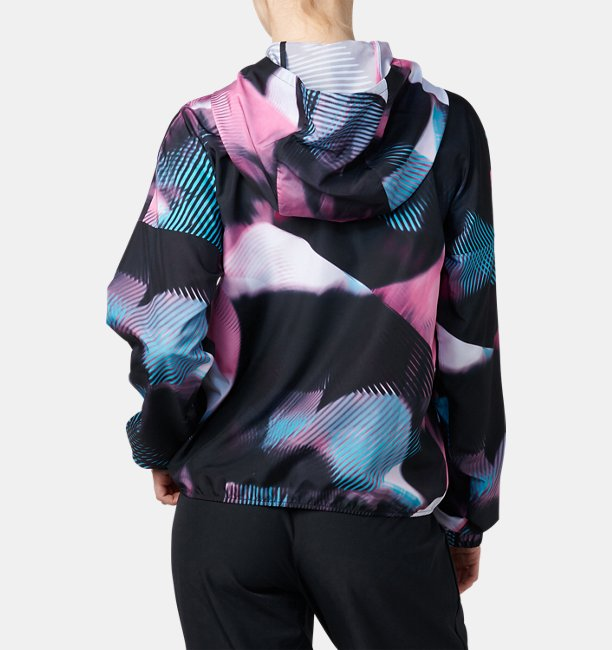 UAプリント ウーブン ジャケット(トレーニング/WOMEN)