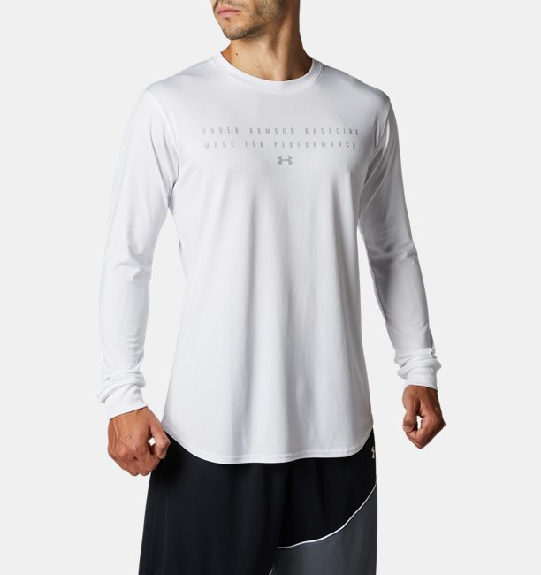 UAベースライン テック ロングスリーブ(バスケットボール/MEN)