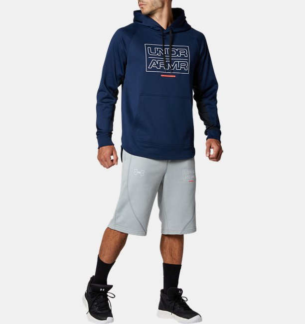 UAベースライン フリース ショーツ(バスケットボール/ショートパンツ/MEN)