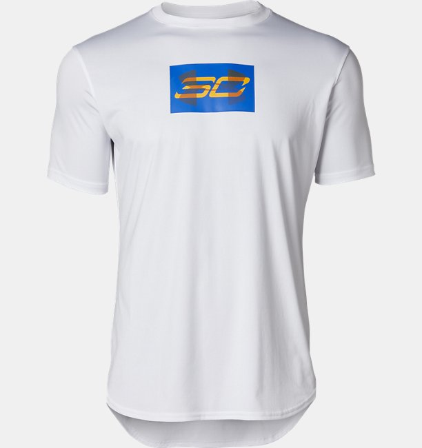 UA SC30 テック オーバーレイ ショートスリーブ(バスケットボール/MEN)