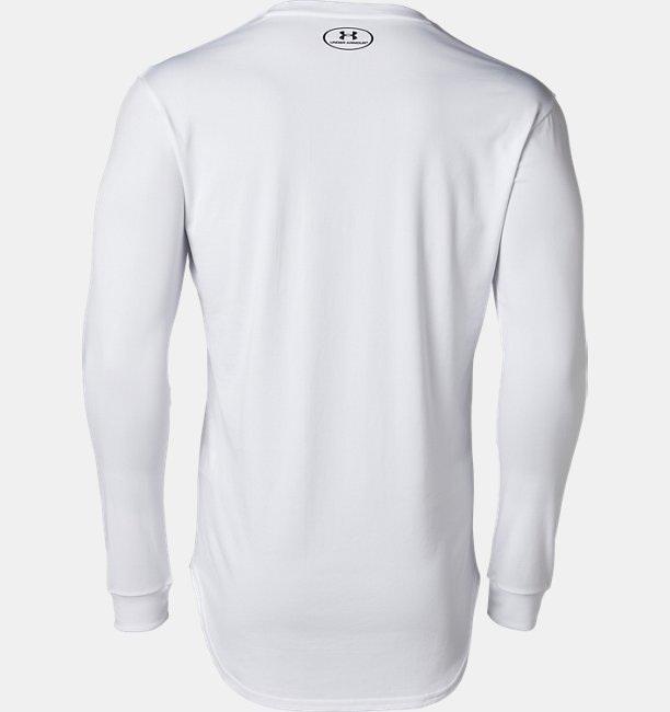 UA SC30 テック スタック ロゴ ロングスリーブ(バスケットボール/Tシャツ/MEN)