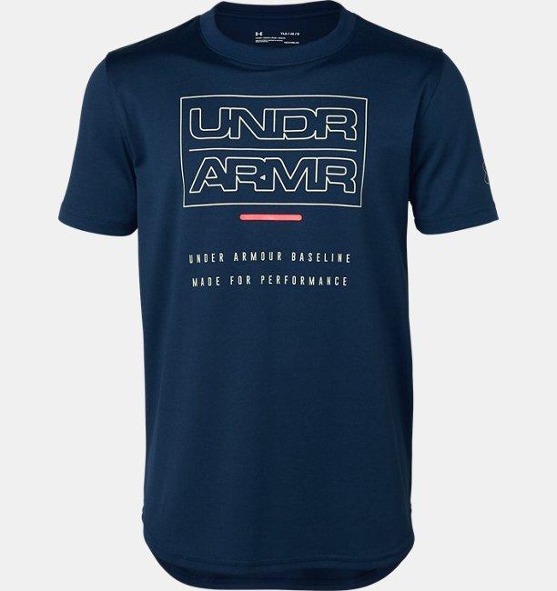 UAベースライン テック ショートスリーブ(バスケットボール/Tシャツ/BOYS)
