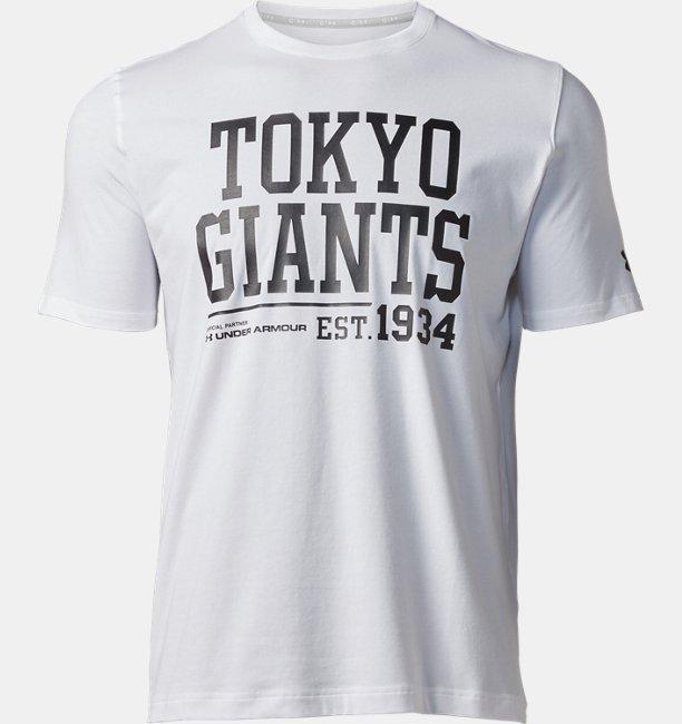 UAジャイアンツビッグテキストTシャツ(ベースボール/Tシャツ/MEN)