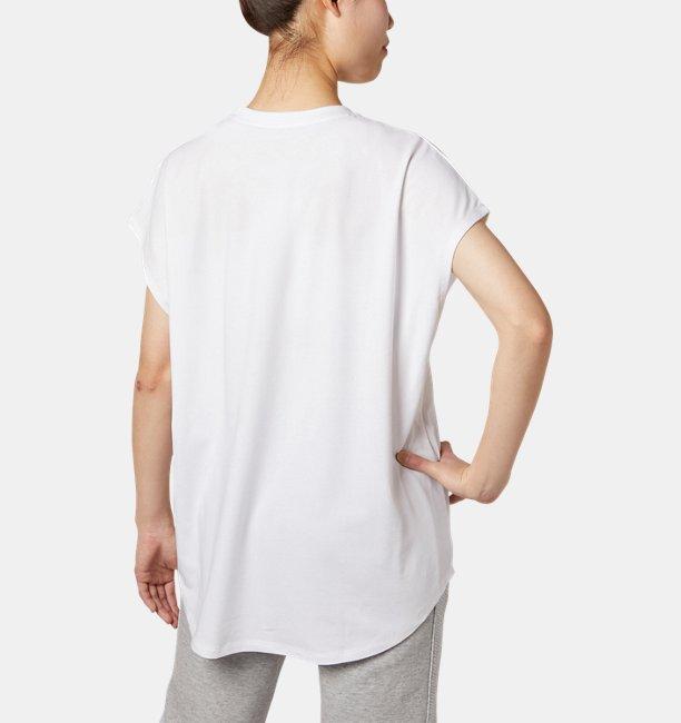 UAジャイアンツチャージドコットンオーバーTシャツ(ベースボール/Tシャツ/WOMEN)