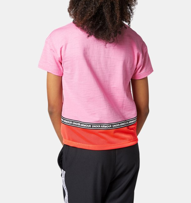 Girls Charged Cotton® Short Sleeve