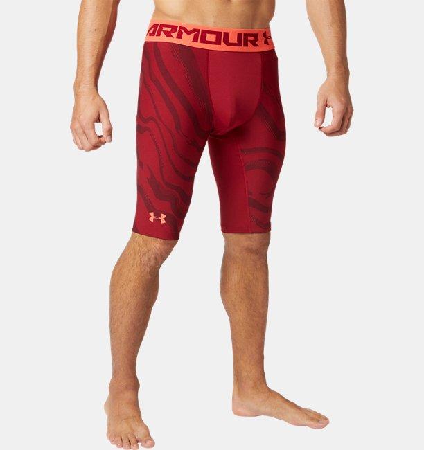 Mens HeatGear® Armour Extra Long Printed Shorts