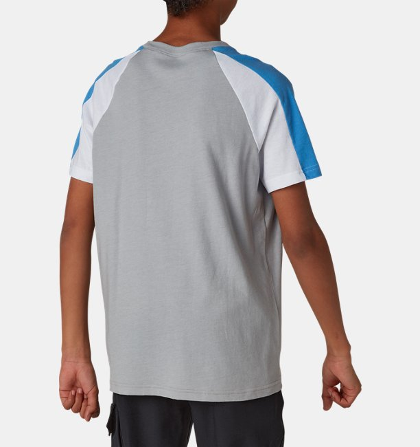 Boys UA Sportstyle Colorblock Short Sleeve