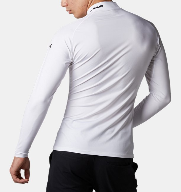 UA HG Fitted Long Sleeve Mock