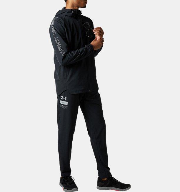 UAウーブン ウォームアップ テーパード パンツ(トレーニング/MEN)
