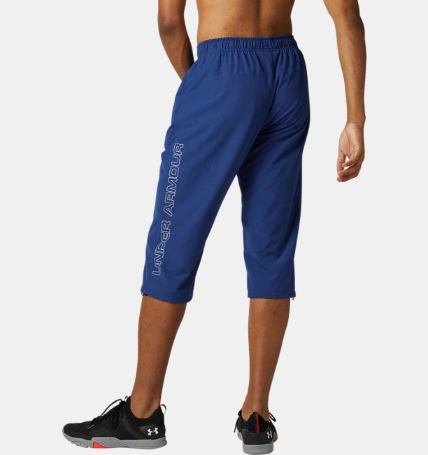 UA Woven Warm Up Tapered 3/4 Pant