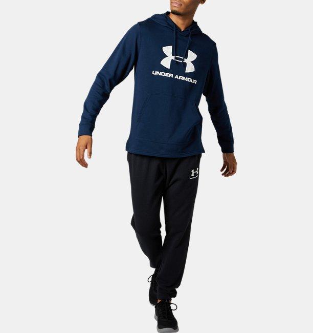 UAスポーツスタイル テリー ビッグ ロゴ フーディー(トレーニング/MEN)
