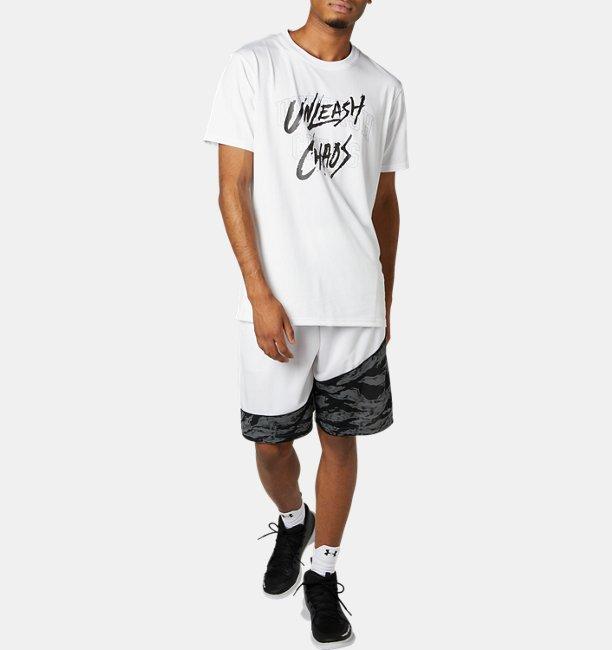 UAベースライン テック Tシャツ <UNLEASH CHAOS>(バスケットボール/MEN)