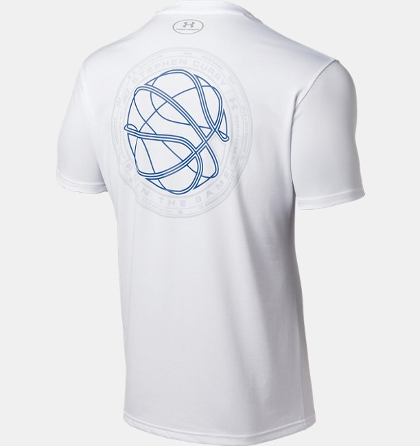 UA SC30 TECH BALL LOGO Tee