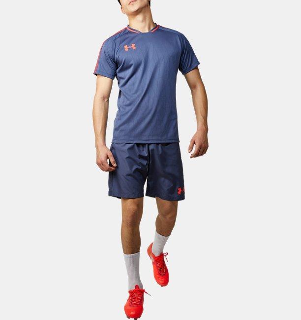 UAフットボール グラフィック メッシュ シャツ(サッカー/MEN)