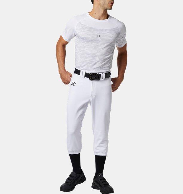 UAテック フィッティドショートスリーブ クルー シャツ グラフィック(ベースボール/MEN)