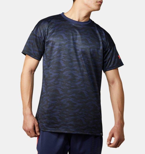 UAテック ショートスリーブ カモ グラフィック シャツ(ベースボール/MEN)