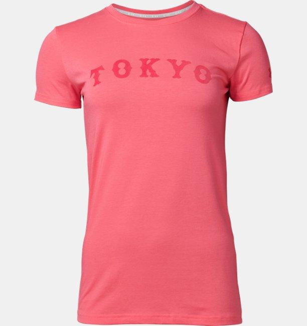UA読売ジャイアンツ ウーマンズ チャージドコットンTシャツ <TOKYO> フロッキー(ベースボール/Tシャツ/WOMEN)