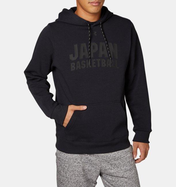 UAバスケットボール JAPAN フリース フーディー(バスケットボール/MEN)
