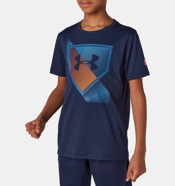 UA Tech Youth Plate Short Sleeve shirt